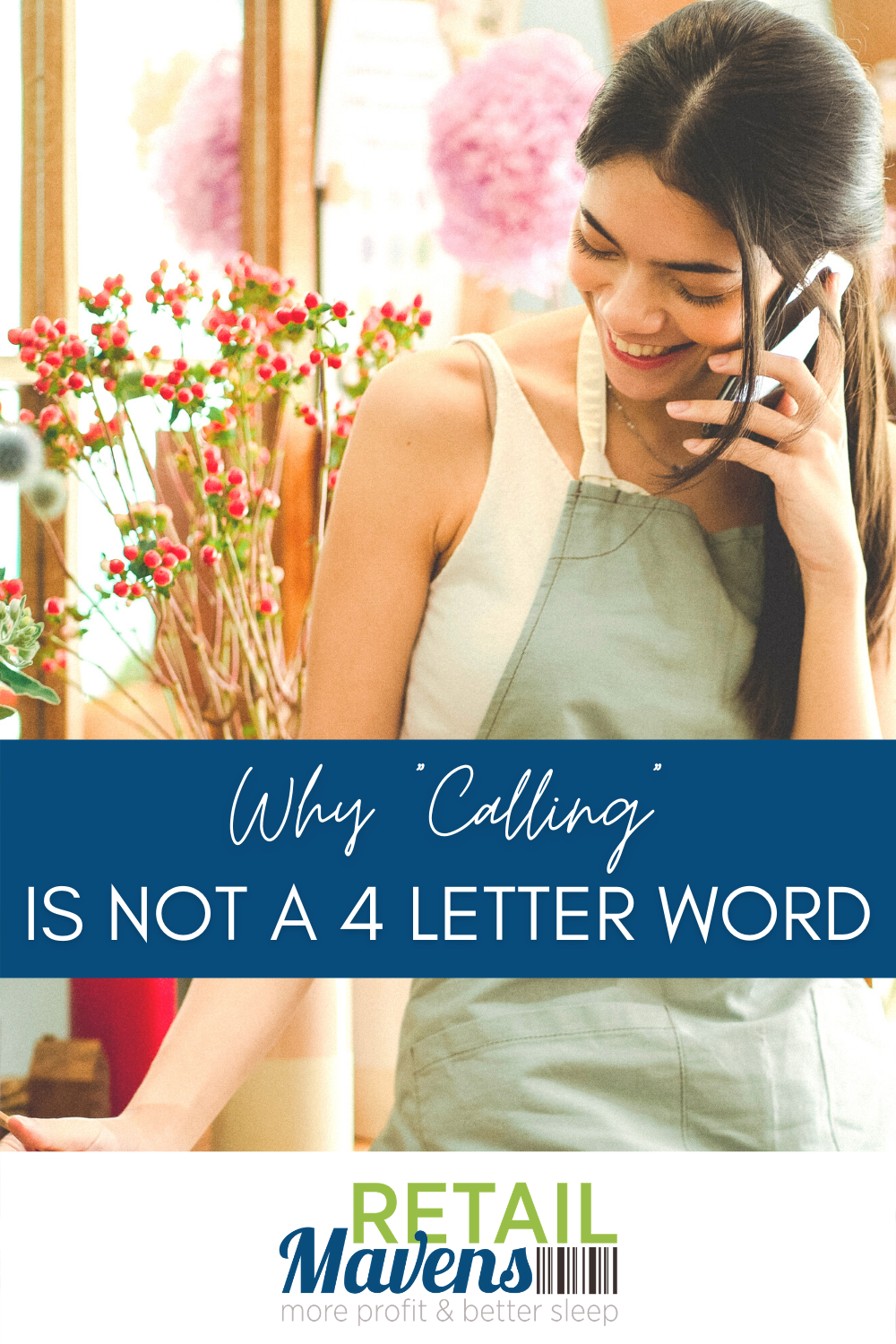 Why calling is not a 4 letter word